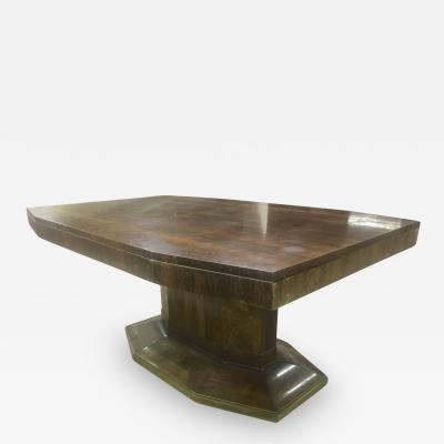 Maison Dominique Maison Dominique Rosewood Octogon Dining Table with Central Base