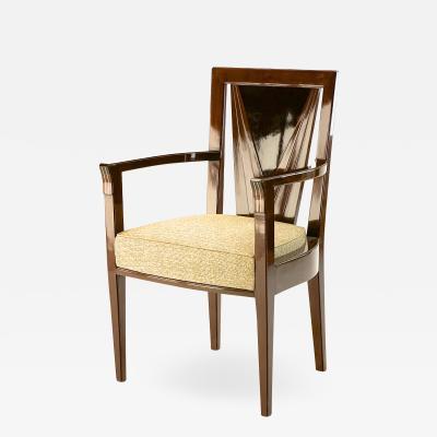 Maison Dominique Maison Dominique Stamped rarest Art Deco arm chair