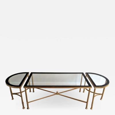 Maison Jansen 1950 s Maison Jansen Style Tripartite Coffee Table