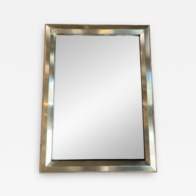 Maison Jansen A Fine French 1970s Mirror Brass Casting Framed by Maison Jansen