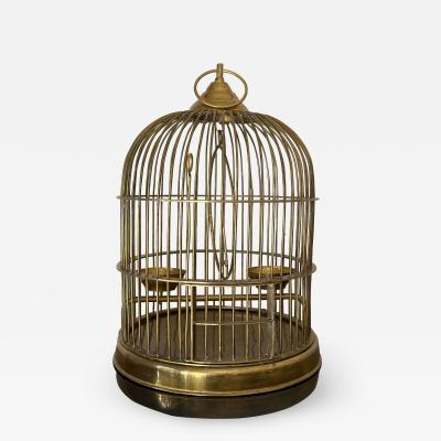 Maison Jansen Brass Birdcage