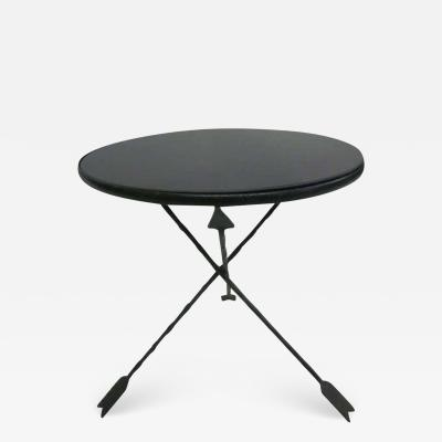 Maison Jansen French Mid Century Modern Neoclassical Side Table Attributed to Jansen
