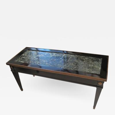 Maison Jansen Jansen Marble Top Coffee Table in the Directoire Manner
