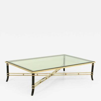 Maison Jansen Large Coffee Table in the Style of Maison Jansen France 1960s