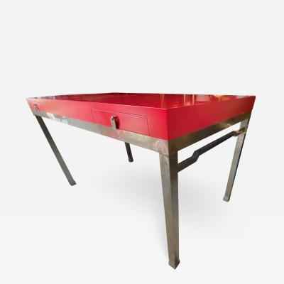Maison Jansen Maison Jansen 70s superb slender chicest desk