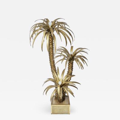 Maison Jansen Maison Jansen Palm Tree Floor Lamp