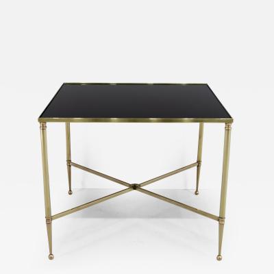 Maison Jansen Maison Jansen Style Brass Cocktail Table