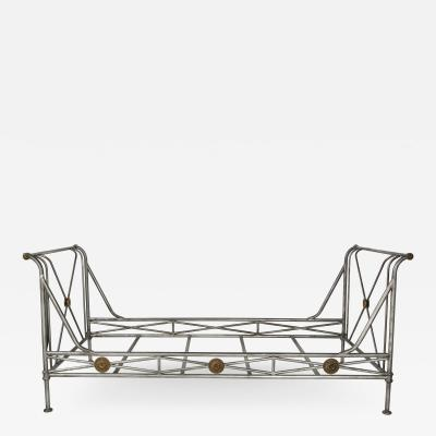 Maison Jansen Neoclassic Revival Day Bed Attributed to Jansen