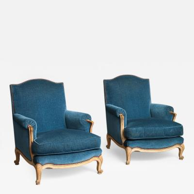 Maison Jansen Pair of Chairs by Maison Jansen