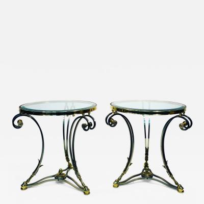 Maison Jansen Pair of Side Tables by Maison Jansen