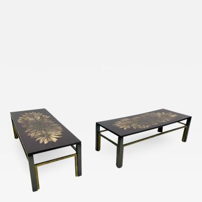 Maison Jansen Rare Pair of Low Tables