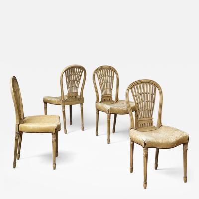 Maison Jansen Set of Chairs by Maison Jansen