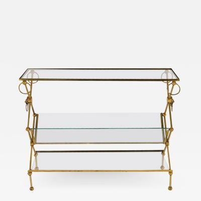Maison Jansen Style Bronze Table