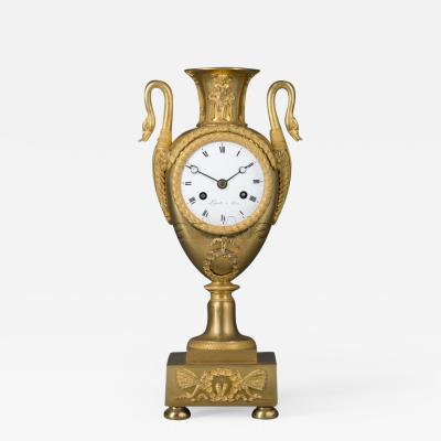 Maison Lepaute Empire Clock In The Form Of a Classical Urn