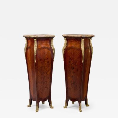 Maison Millet A Pair Of Louis XV Style Pedestals