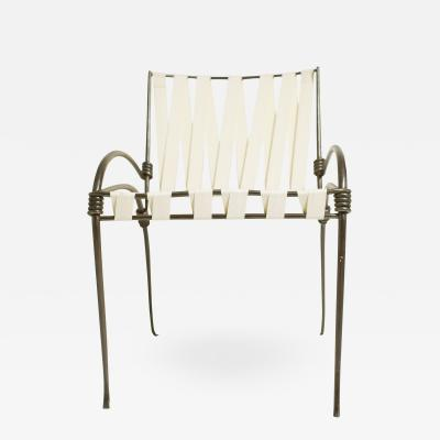 Maison Ramsay wrought iron chair
