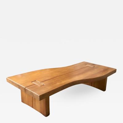 Maison Regain FRENCH ELM LOW TABLE BY MAISON REGAIN