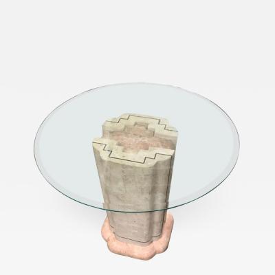 Maitland Smith Maitland Smith Tesselated Marble Pedestal