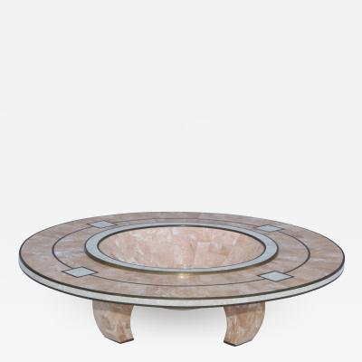 Maitland Smith Maitland Smith Tesselated Stone Art deco Style Bowl