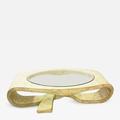 Maitland Smith Maitland Smith Tesselated Stone Sculptural Coffee Table