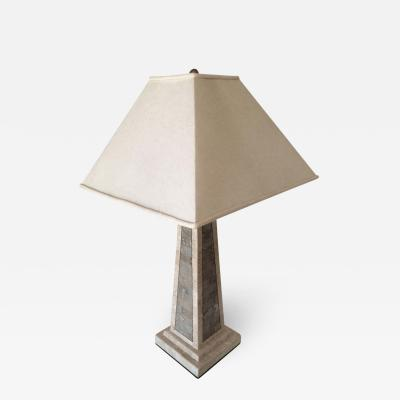 Maitland Smith Maitland Smith Tessellated Marble Lamp