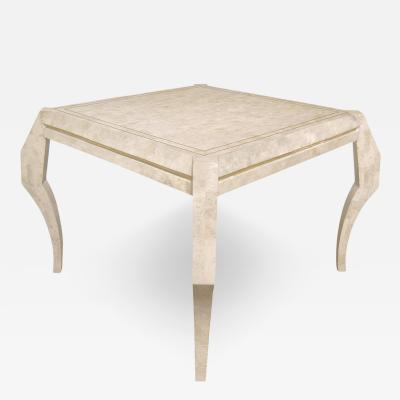 Maitland Smith Sculptural Game Table in Tesselated Coral