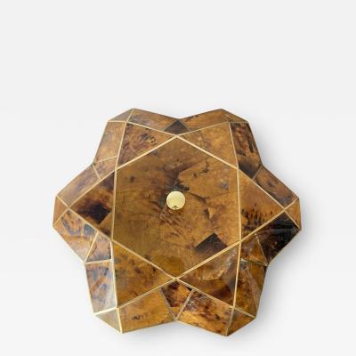 Maitland Smith Tessellated Pen Shell Jewelry Box