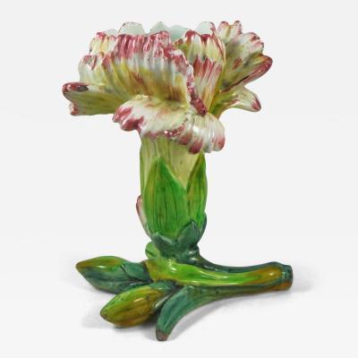 Majolica Flower Vase Massier