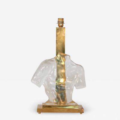 Male Torso Murano Lamp