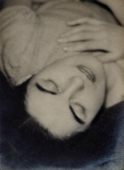 Man Ray Alice Rahon Portrait