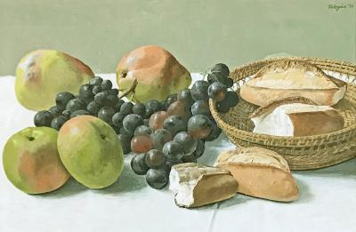 Manuel J Tolegian Apples Grapes Bread