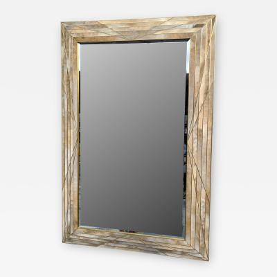 MarGian Studio Inc Dueling Bronze Parchment Mirror
