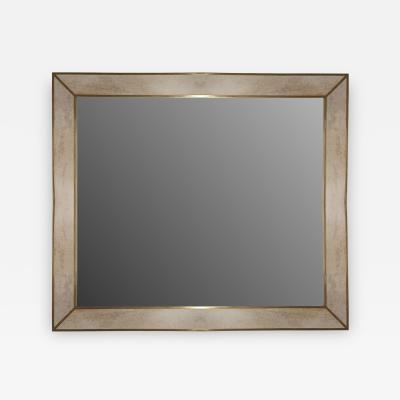 MarGian Studio Inc Minimalist Bronze Parchment Mirror