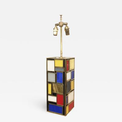 MarGian Studio Inc Mondrian Inspired Table Lamp