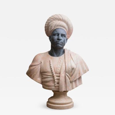 Marble Bust of Moor