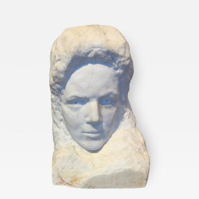 Marble Carved Bust