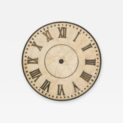 Marble Clock Face