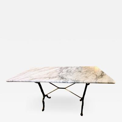 Marble Top Bistro Table