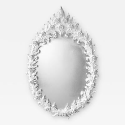 Marc Bankowsky Large Polyester Plaster Mirror After Marc Bankowsky