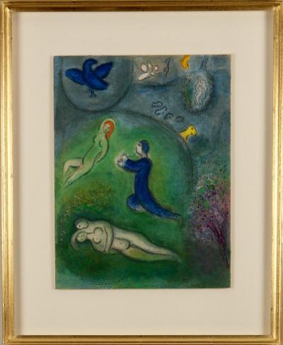 Marc Chagall Daphnis and Chlo