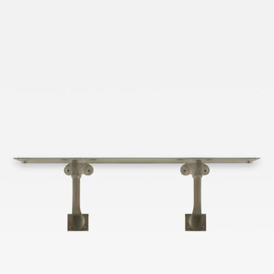 Marc Lalique French Wall Bracket Console Table