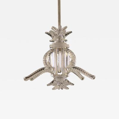 Marc Lalique Marc Lalique 1945 Chandelier