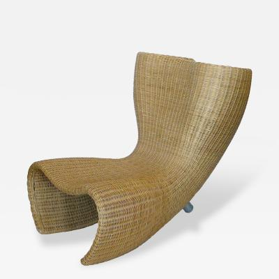 Marc Newson Marc Newson Wicker Felt Chair Produced by Idee 1990
