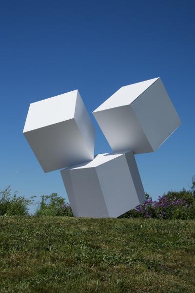 Marc Plamondon Chute des Cubes