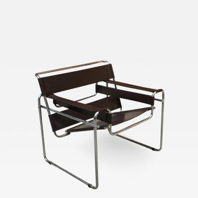 Marcel Breuer B3 Wassily armchair by Marcel Breuer for Gavina 1968