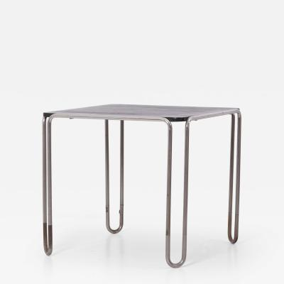 Marcel Breuer Early Bauhaus Dining Table B10 by Marcel Breuer for Thonet