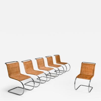 Marcel Breuer Marcel Breuer Bauhaus Dining Chairs for Thonet 1970s