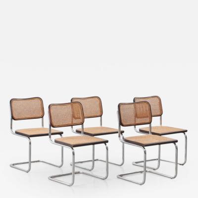 Marcel Breuer Marcel Breuer Cesca attr chairs Italy c1970s