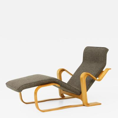 Marcel Breuer Reclining Chaise Longue by Marcel Breuer for Gavina