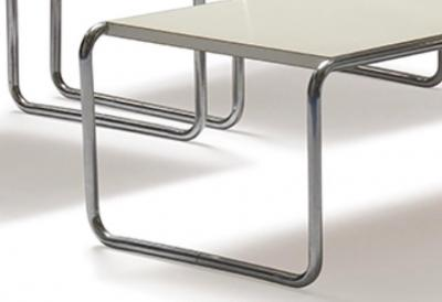 Marcel Breuer Set of Marcel Breuer Laccio Side Tables and Coffee Table